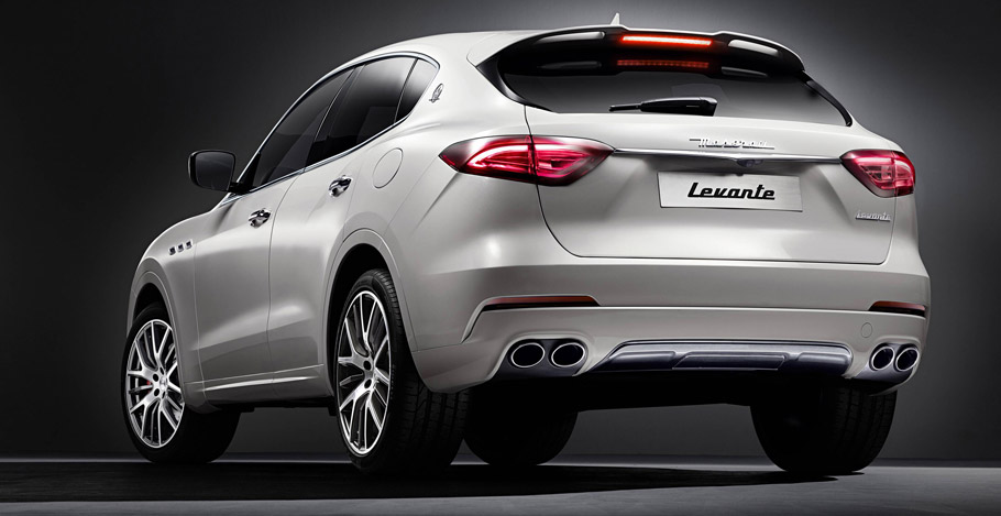 Maserati Levante Rear View