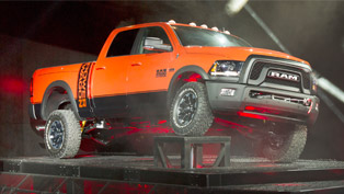 Powerful and Confident, 2017 Ram Power Wagon is Ready For Some Off-Road Challenges