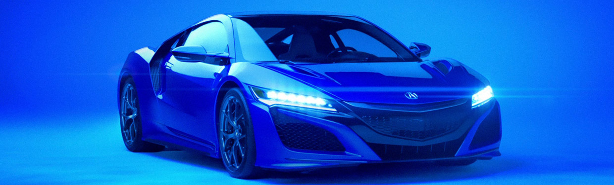 2017 Acura NSX Super Bowl Spot First Picture