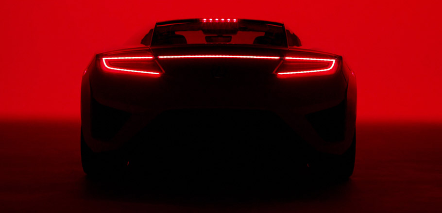 2017 Acura NSX Super Bowl Spot Second Picture