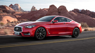 Redesigned Infiniti Q60 and QX30 to Make European Debut in Geneva