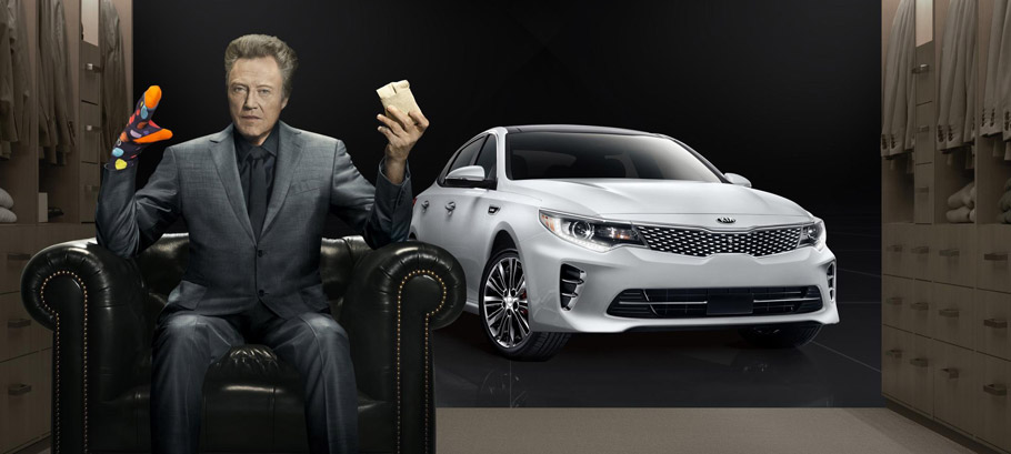 "2016 Kia Optima:  Walken Closet ""Big Game"" Ad"