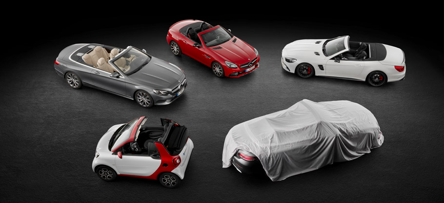 Mercedes-Benz Dream Car Collection Above View