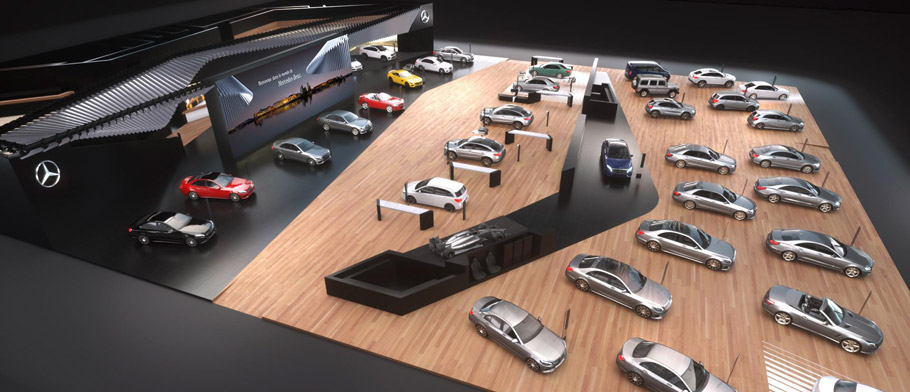 Mercedes-Benz Dream Car Collection - The Stand