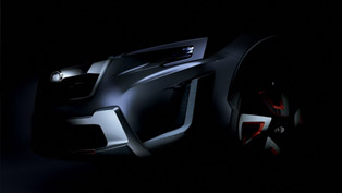 futuristic subaru xv concept with world premiere in geneva