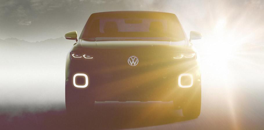 Volkswagen SUV Concept First Teaser