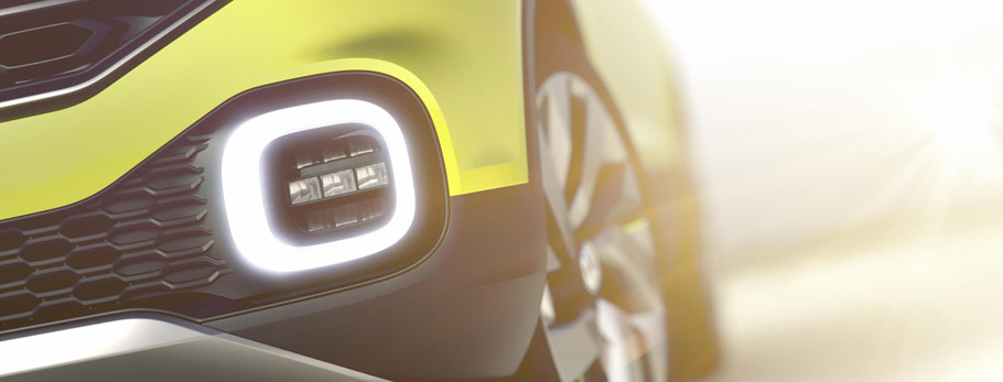 Volkswagen SUV Concept Second Teaser
