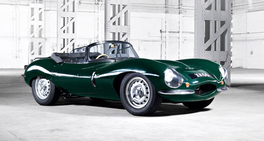 1957 Jaguar XKSS side view