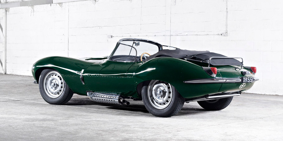 1957 Jaguar XKSS Rear view