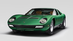 lamborghini team brings 1971 miura sv to previous glory