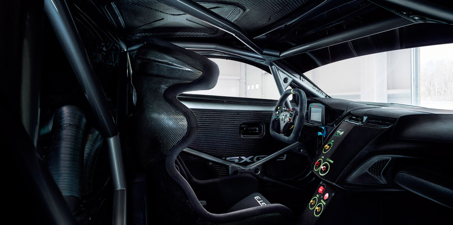 Acura NSX GT3 Race Car Interior