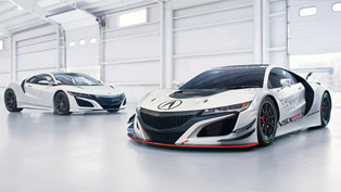 Acura Reveals the NSX GT3 Racer in New York