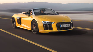 Audi R8 Spyder: The Star at the New York Auto Show