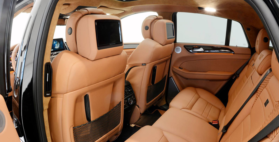BRABUS Mercedes-Benz GLE 63 Coupe Interior