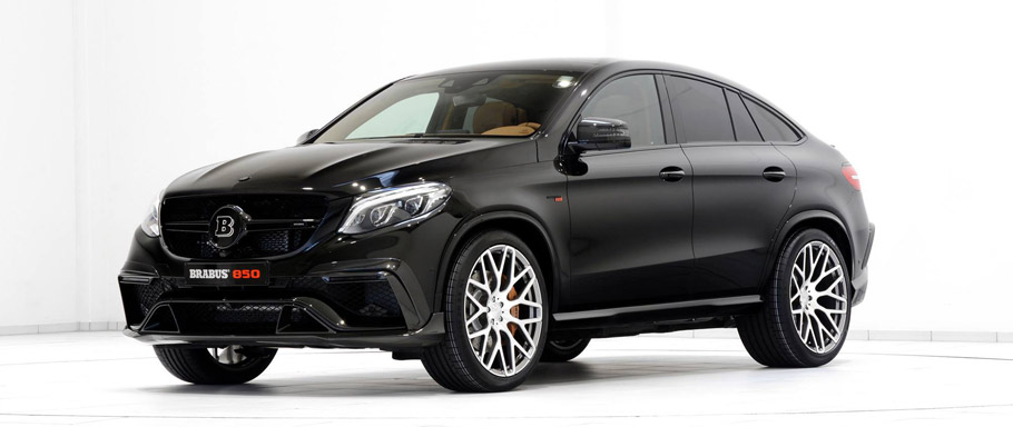 BRABUS Mercedes-Benz GLE 63 Coupe Front View