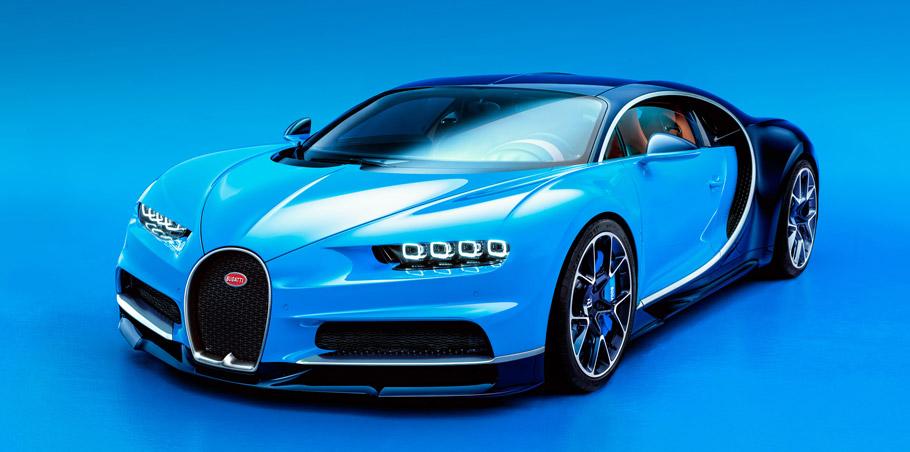 Bugatti Chiron Front View