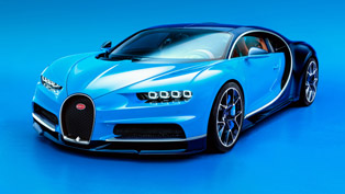 The Fastest and Most Powerful Bugatti Chiron Makes Geneva Premiere