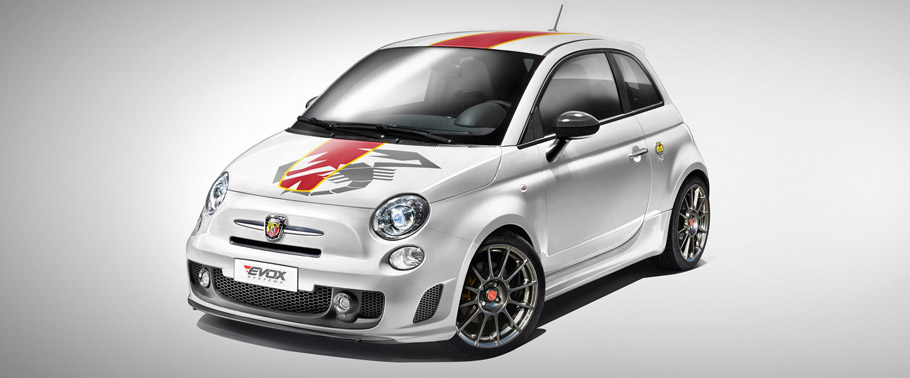 EVOX Performance Abarth 695 Front View
