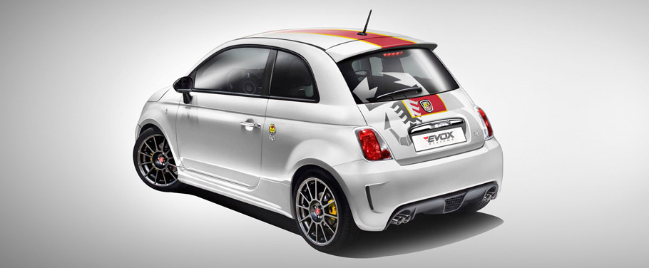 EVOX Performance Abarth 695  Rear View