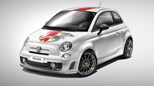 EVOX Performance Upgrade Makes the Abarth 695 Biposto a Racing Machine