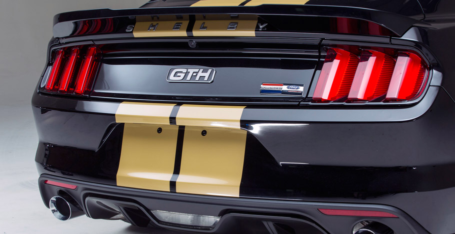 Shelby GT350-H Rear View