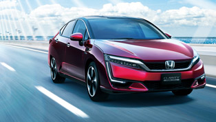 Honda Announces Prices and Details for the New Clarity Fuel Cell Car