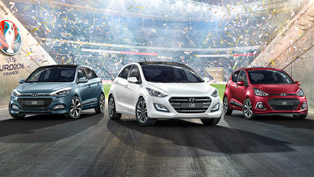 Hyundai i10, i20 and i30 GO! are Dedicated to UEFA EURO 2016