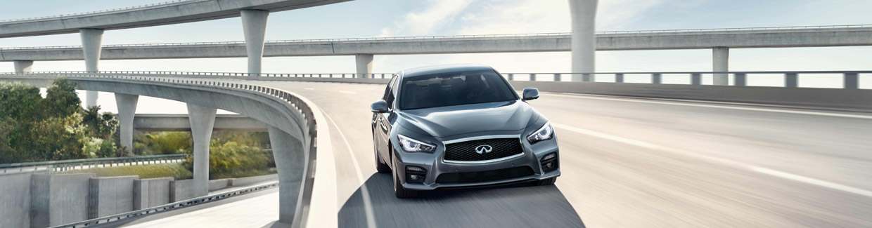 2016 Infiniti Q50 front view