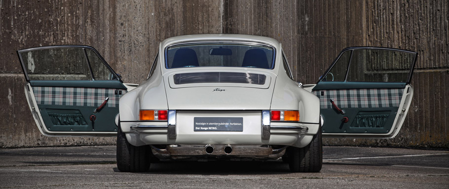 Kaege Porsche 911 Evergreen Rear View