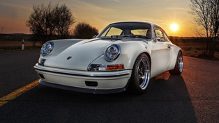 Kaege's Porsche 911 F-Series is an Evergreen Classic Based on the 993 Model