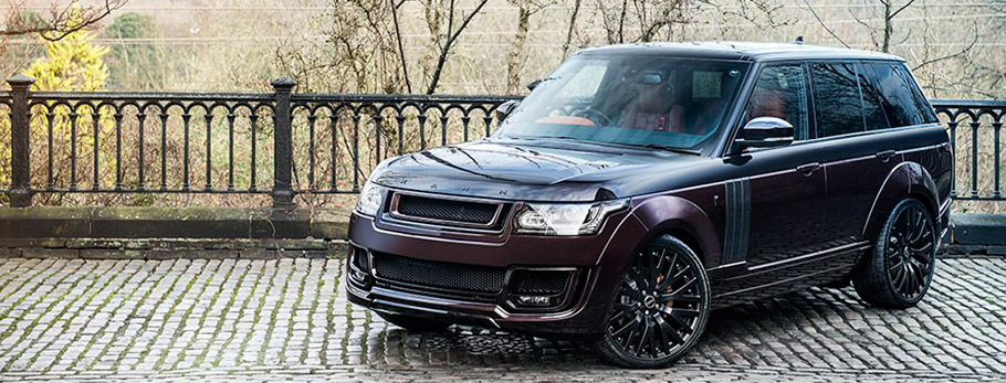 2016 Kahn Range Rover RS Pace Car Black Kirsch Over Madeira Red front view
