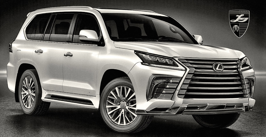 Larte Design Lexus LX Sketch one