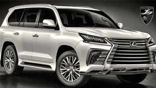Larte Design Reveals its Top Secret Project: Lexus LX 570