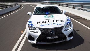 Lexus RC F is the Newest NSW Police Vehicle