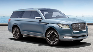 lincoln unveils the new navigator concept: comfort and convenience in single pack