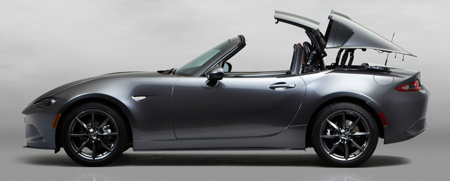 Mazda MX-5 RF Side View