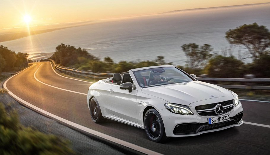Mercedes-AMG C63 Cabriolet Front View