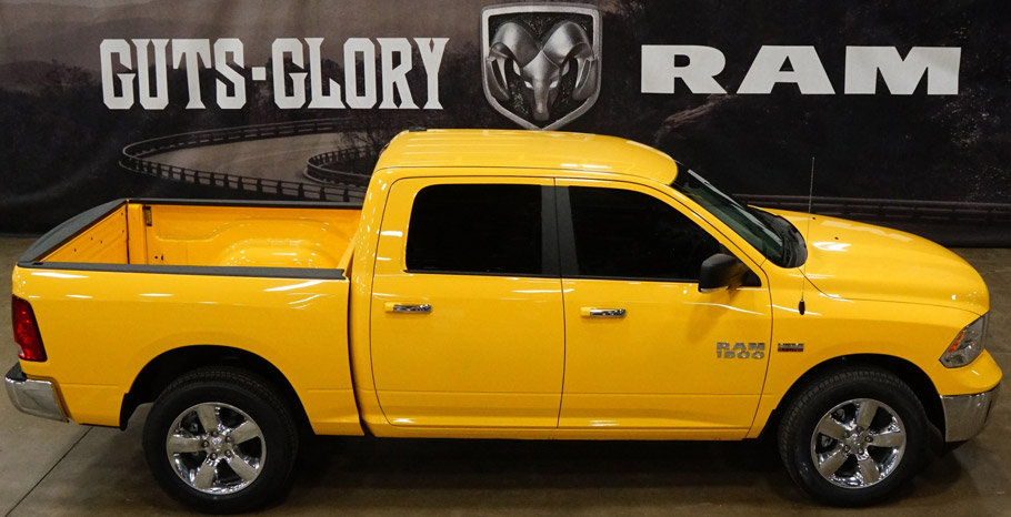 2016 Ram Yellow Rose of Texas