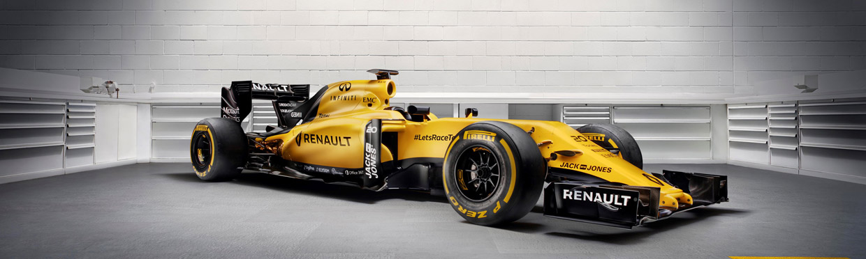 Renault R.S.16  Front View