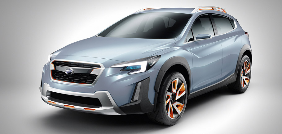 Subaru XV Concept Front View