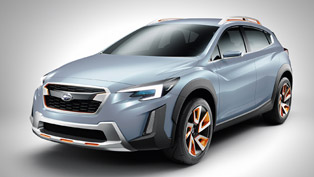 geneva debuting subaru xv concept previews future design direction