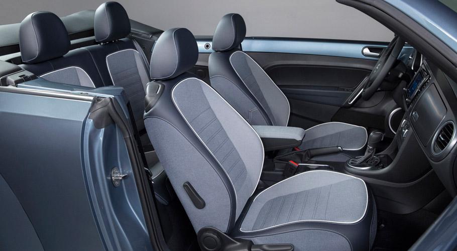 Volkswagen Beetle Denim  Interior