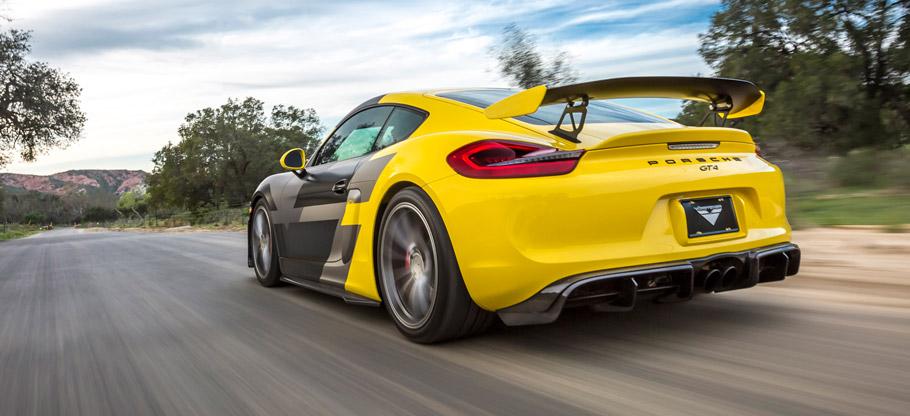 Vorsteiner Porsche GT4 Rear View