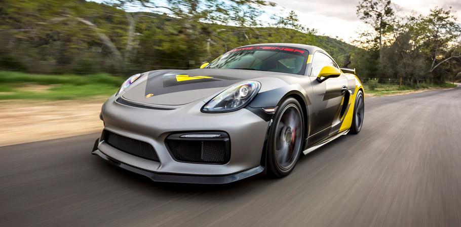 2016 Vorsteiner Porsche GT4 front view