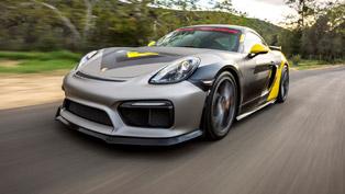 Vorsteiner Releases GT4-V Aero Kit for Porsche Cayman & Boxster