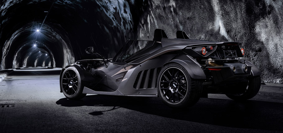 Wimmer RS KTM X-Bow GT Black Edition Rear View