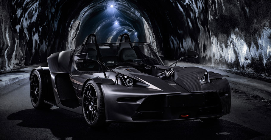 Wimmer RS KTM X-Bow GT Black Edition Front View