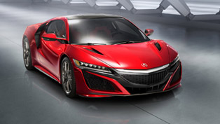 2017 Honda NSX Production Start Scheduled for April