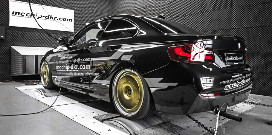 mcchip-dkr BMW 220i MC320  Rear View