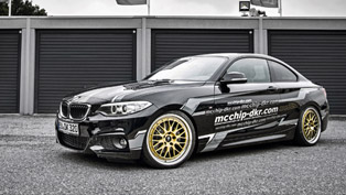what happens when you optimize the engine of bmw 220i and turn it into mc320 project?